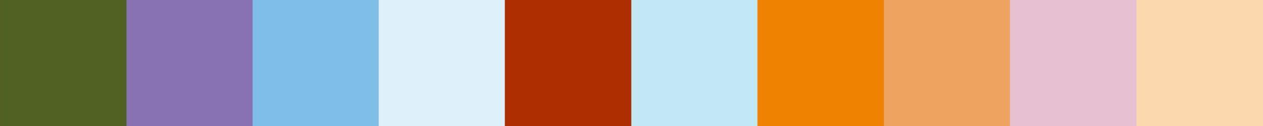 799 Nabina Color Palette
