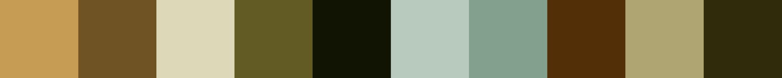 99 Niopoia Color Palette