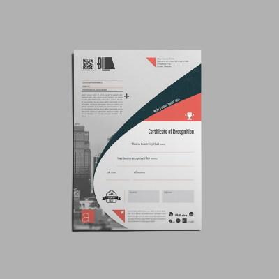 Bi4 Recognition Certificate Template