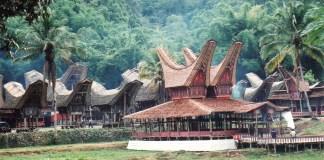 Toraja International Festival - Rumah Adat Toraja