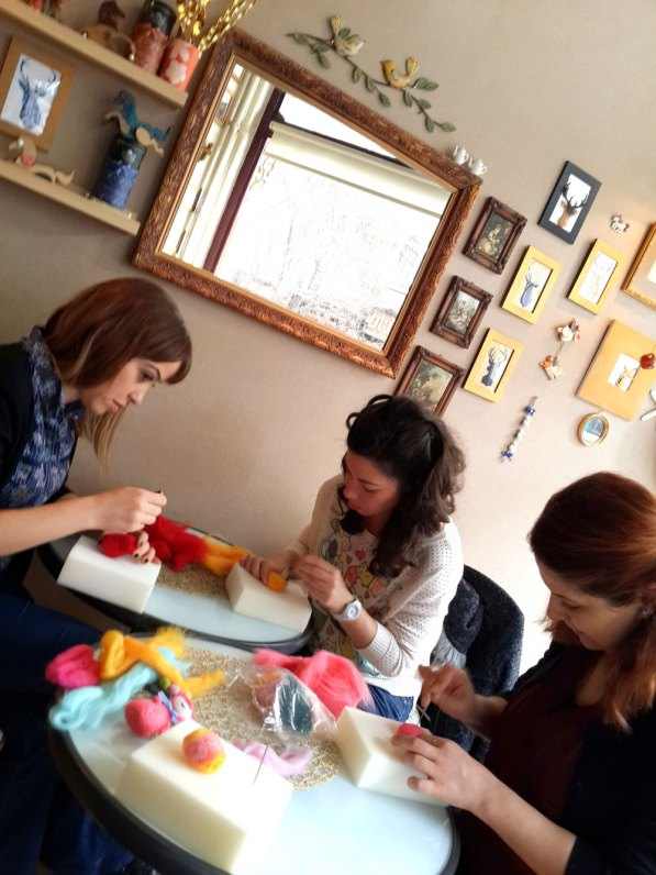 keçe iğneleme workshop ankara