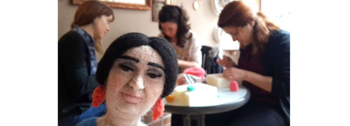 Ocak 2015 Keçe İğneleme Ankara Workshop – Tommy Ayıcık