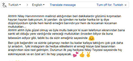Teşekkürler Elif hanım :)