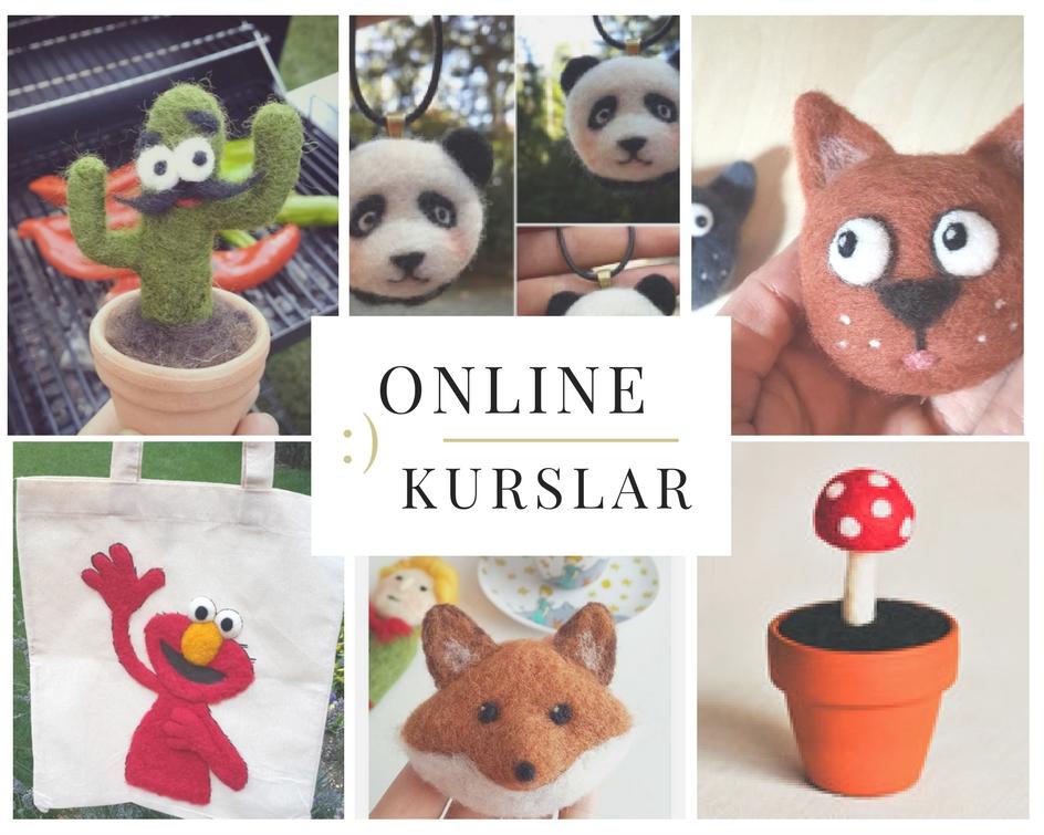 online keçe iğneleme kursları