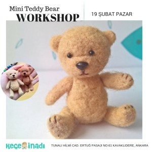 Mini Teddy Bear Workshop