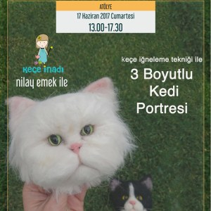 Kedi Portresi Workshop