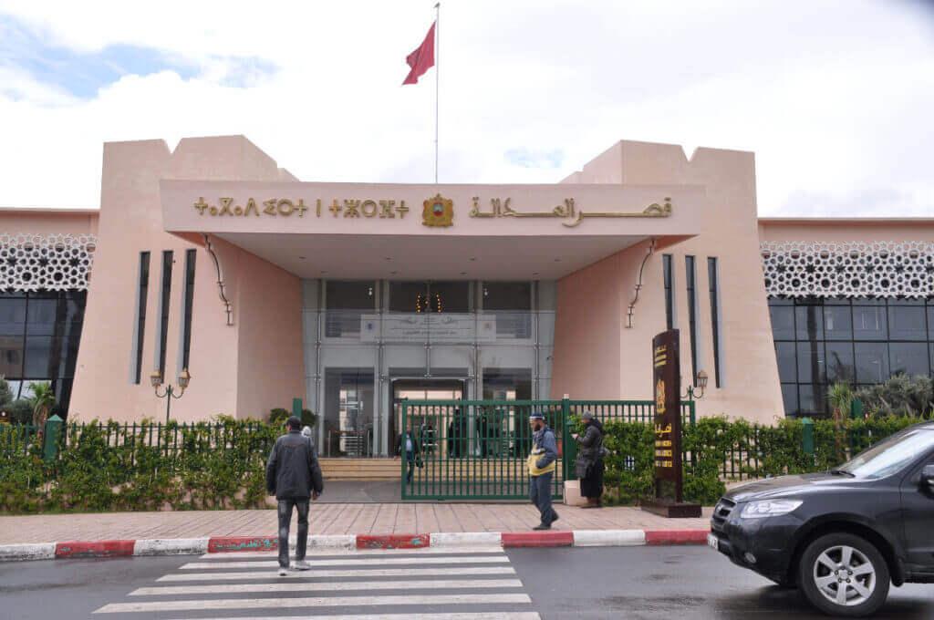 إصابات كورونا تعجل بإغلاق قصر العدالة بمراكش