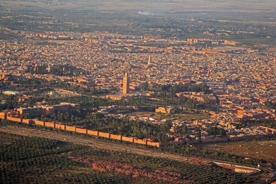 رسميا.. إحداث ترسيم جديد للحدود الترابية بجماعة مراكش