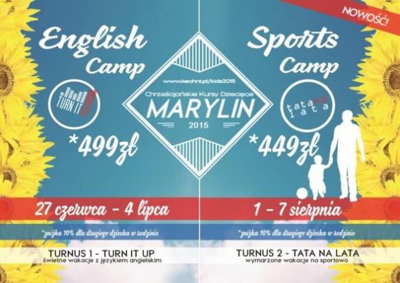 Chrześćijański kurs dziecięcy: Marylin 2015