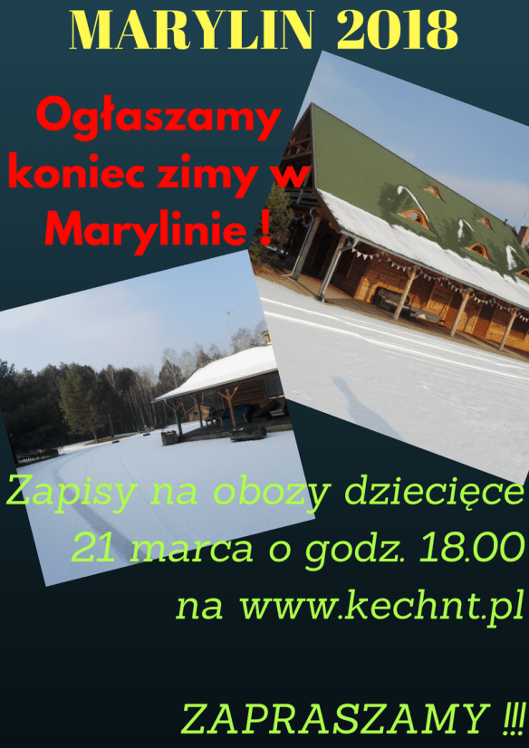 MARYLIN KIDS CAMPS 2018