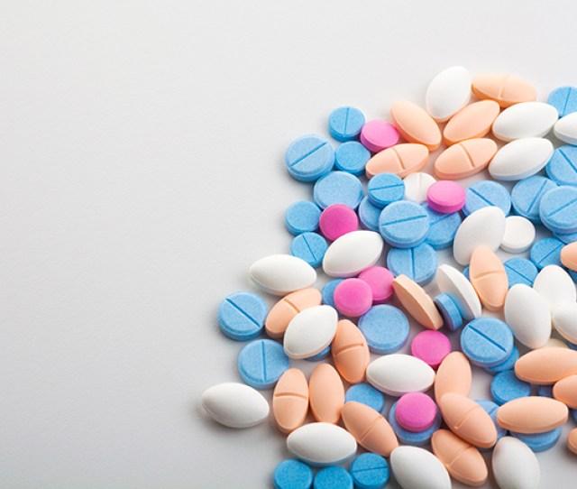 An Image Of Prescription Pills