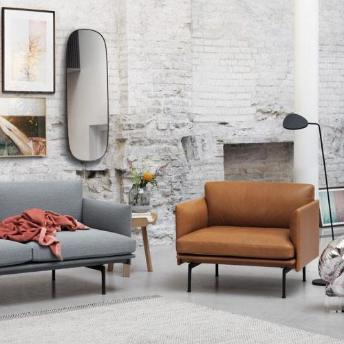 Muuto bank Outline Sofa 3 seater