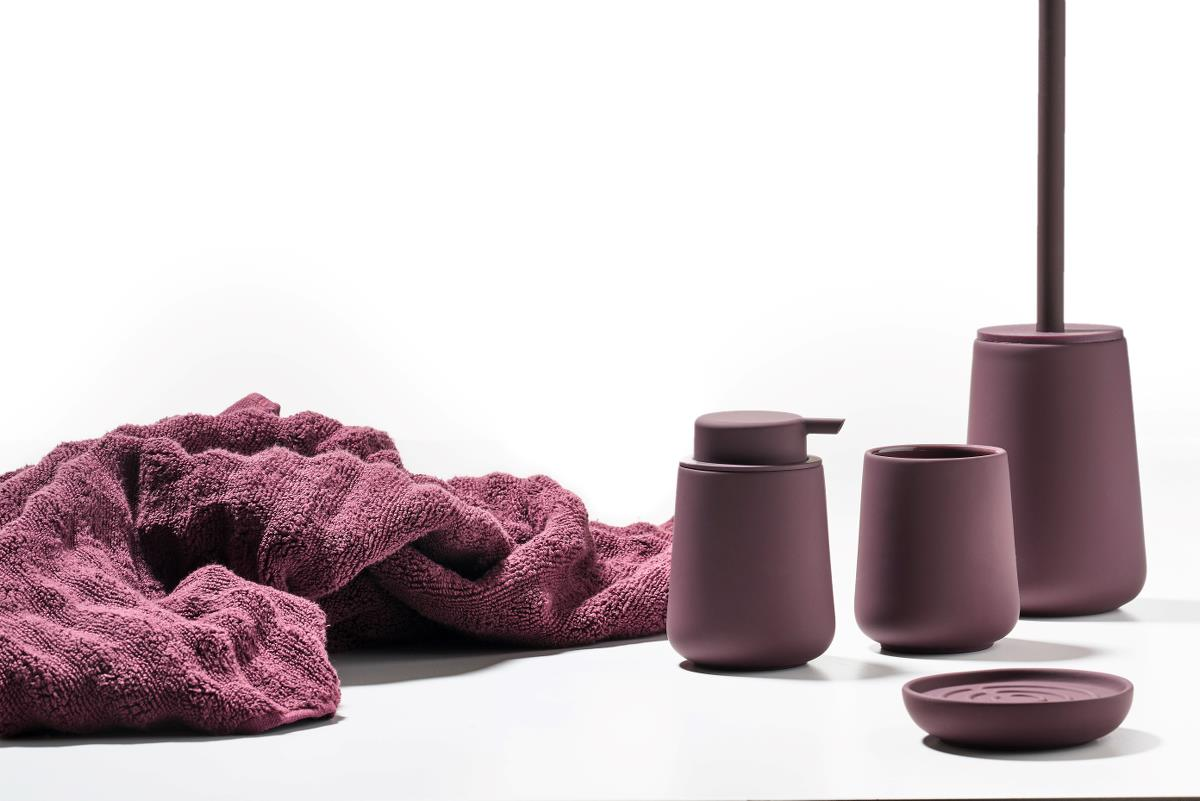 Soap dish velvet purple nova one