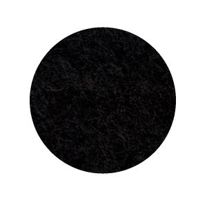 Onderzetter 16cm black 02