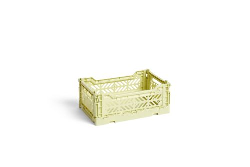 Hay Colour Crate S lime
