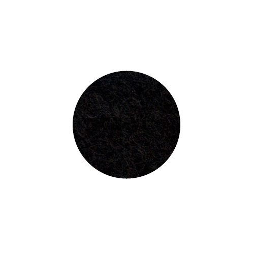 Onderzetter 9cm black 02
