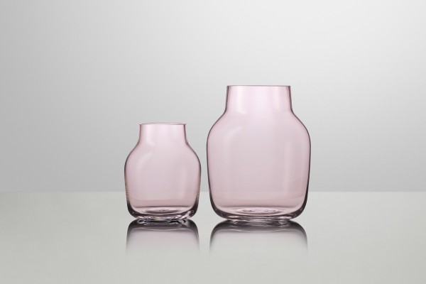 Muuto Silent Vase Large Rose UITLOPEND