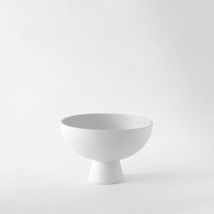 Raawii Medium Bowl Strøm Vaporous Grey