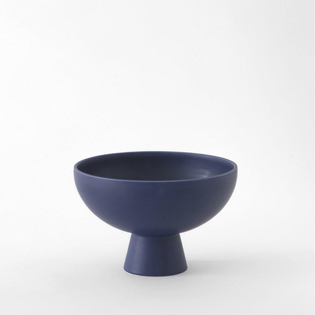 Raawii Large Bowl Strøm Blue