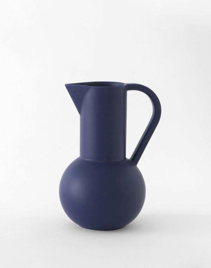 Raawii Medium Jug Strøm Blue