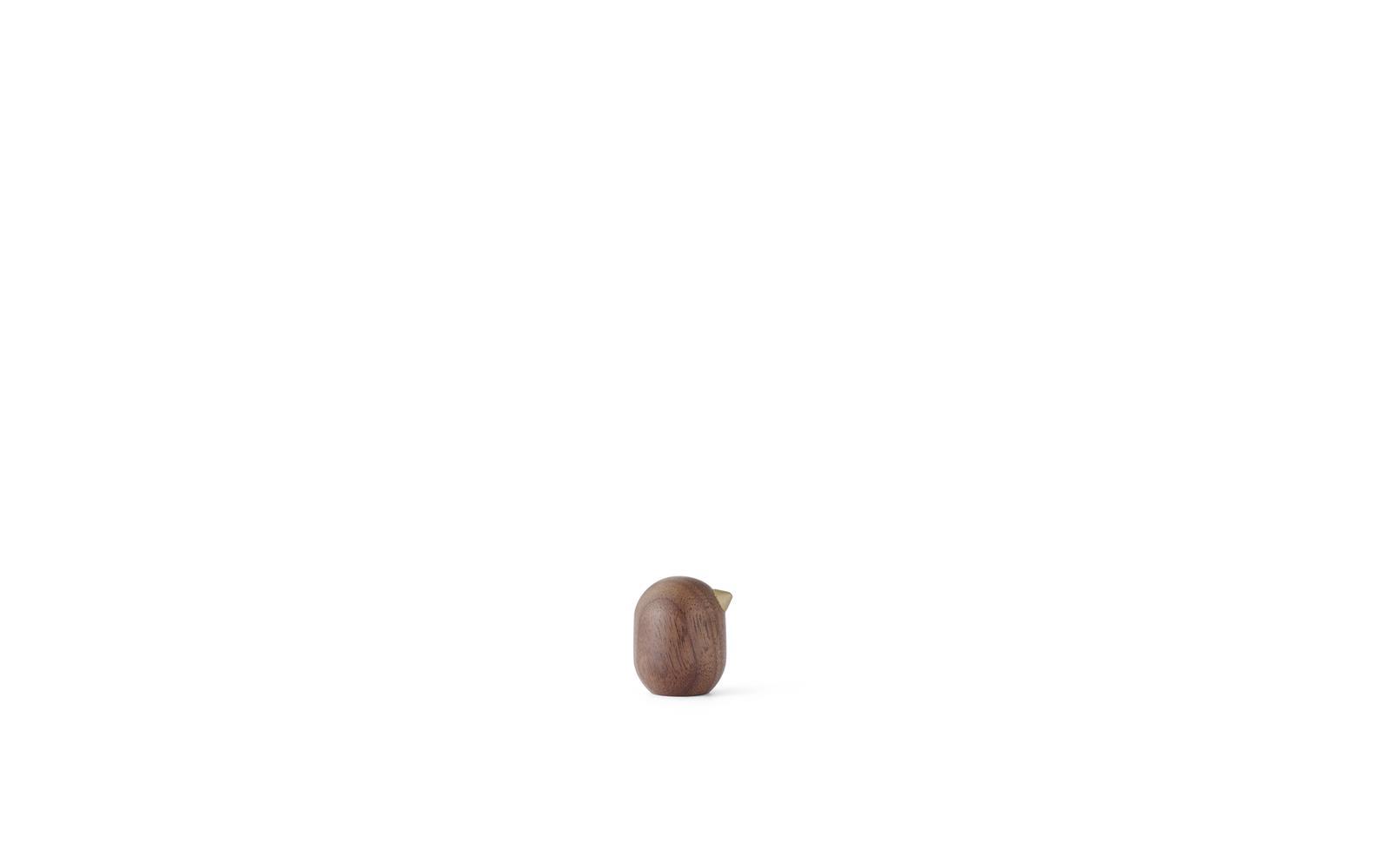 Little bird 3 cm walnut