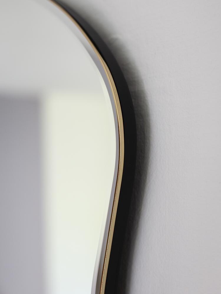 Pond Mirror - Large - Black