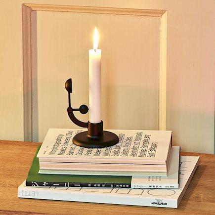 HAY Moment Candleholder Black