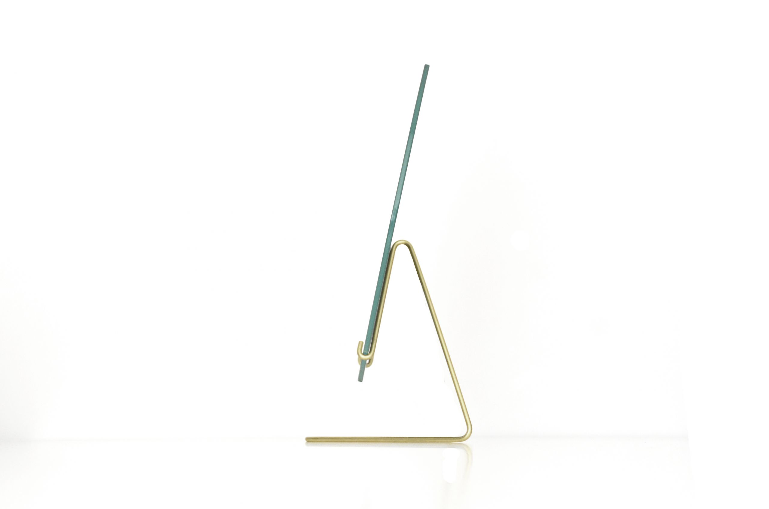 Moebe table mirror brass 20cm