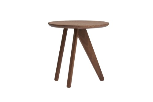 Norr11 Fin Side Table Dark Stained