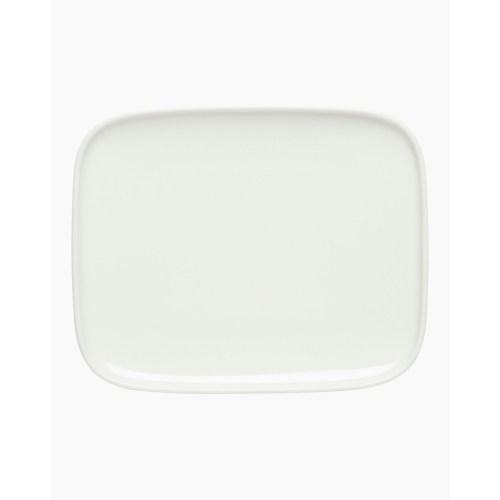 Marimekko Oiva Plate White 15x12cm