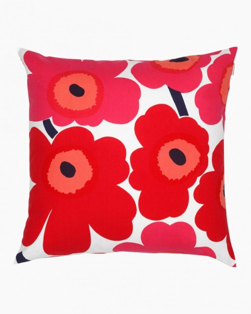 Marimekko Unikko Cushion 001 Red