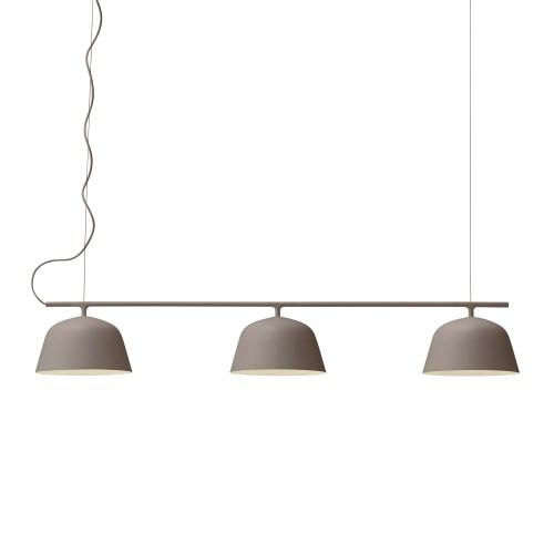 Ambit rail lamp taupe