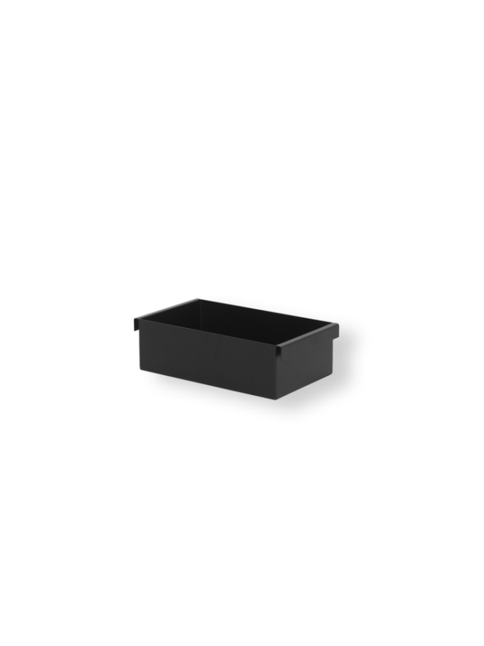 Container for plant box black