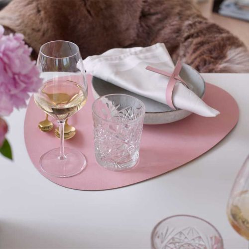 Placemat curve nupo rose