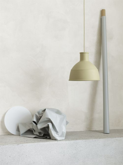Unfold pedant lamp beige-green