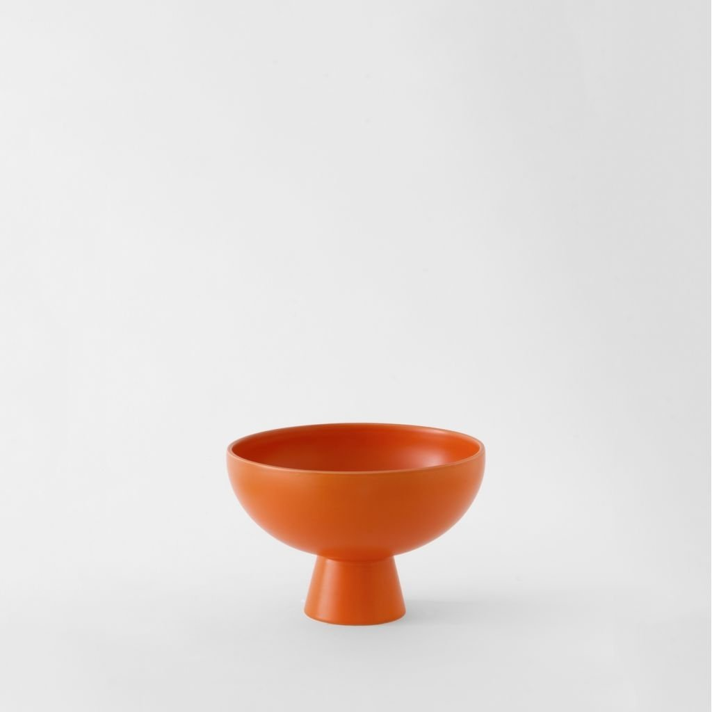 Small Bowl Strøm Vibrant Orange