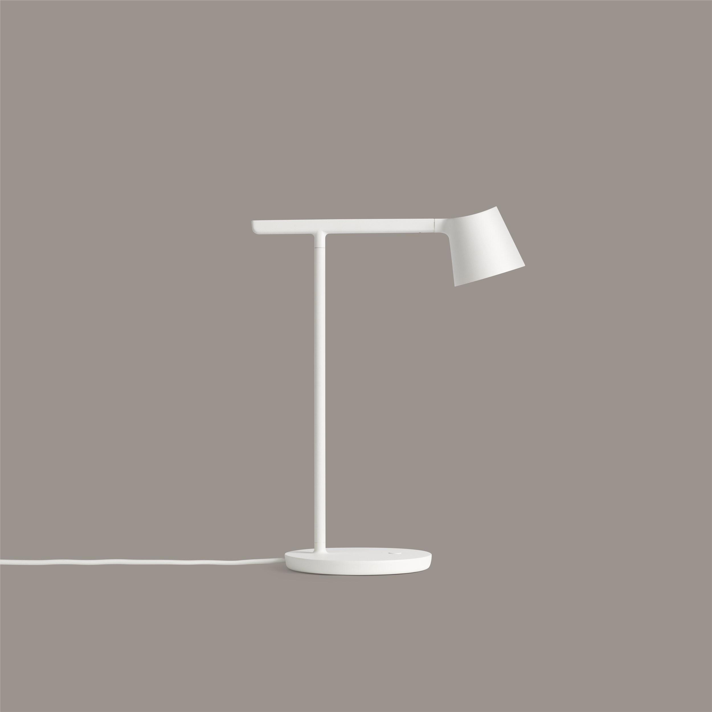 Tip table lamp white