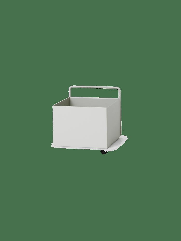 Wall box square light grey