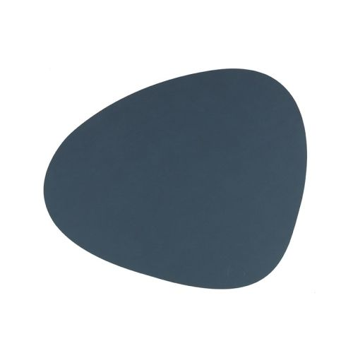 Placemat curve nupo double dark blue/black