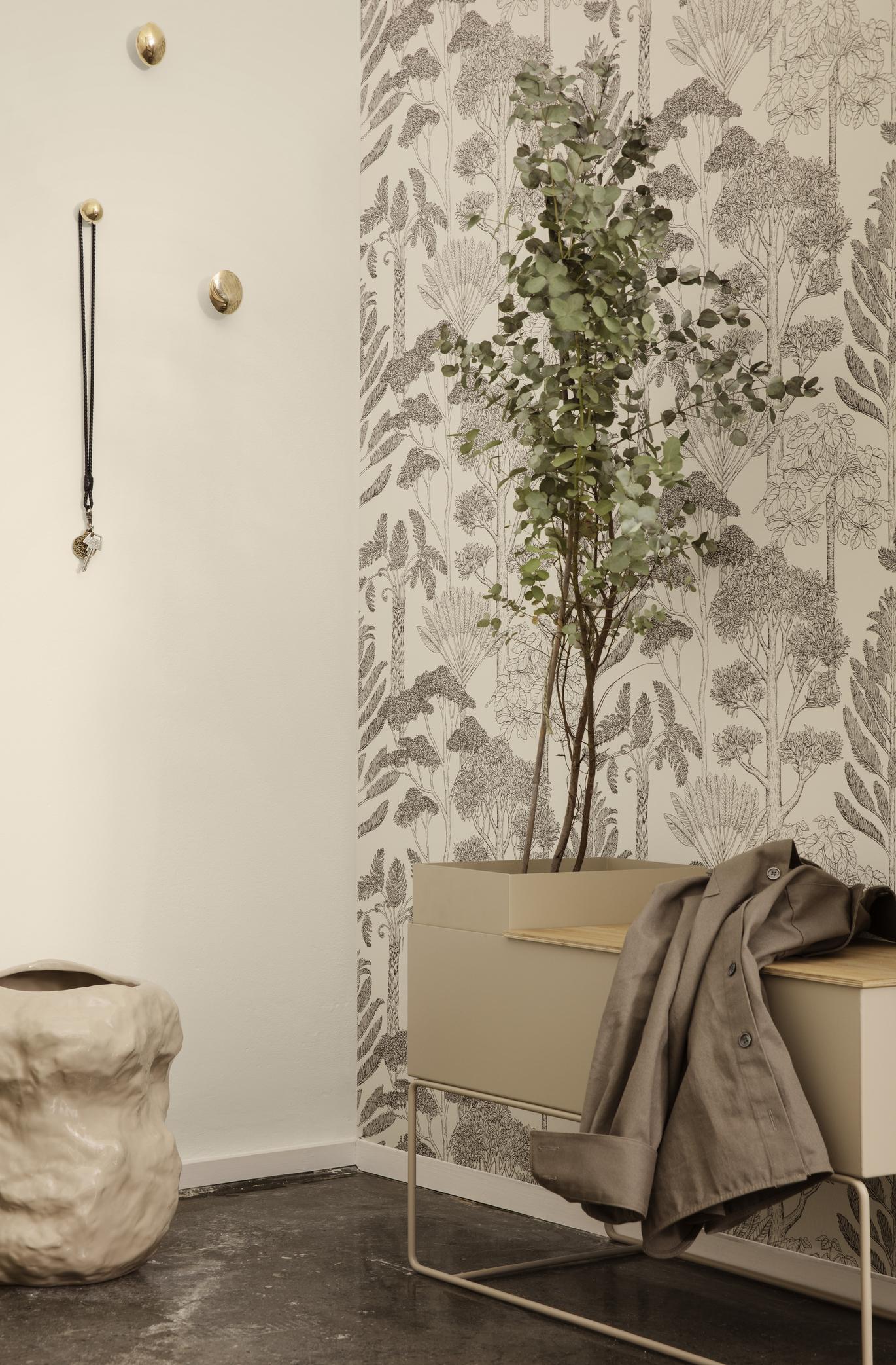 Ferm Living Plant Box Pot Large Light Grey