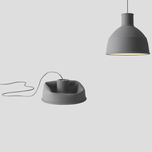 Unfold Lamp Black