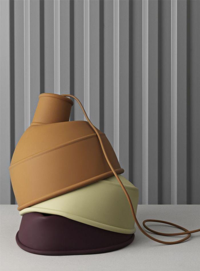 Unfold Lamp Olive