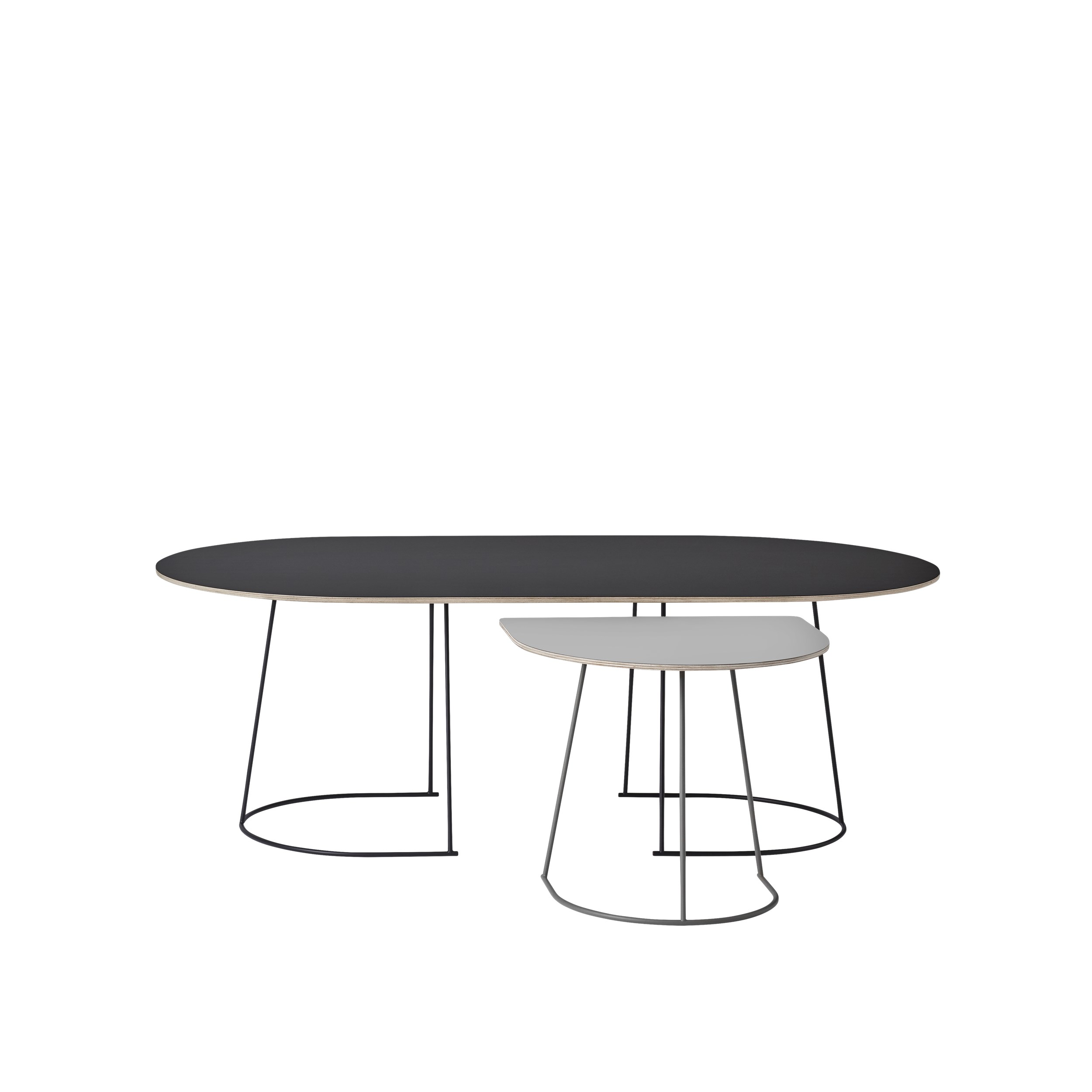 Muuto Airy Coffe Table Small Black