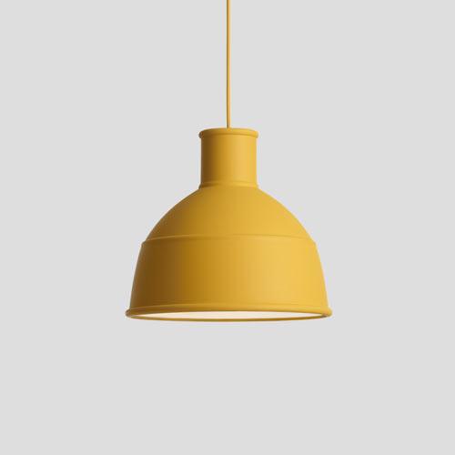 Unfold Lamp Mustard