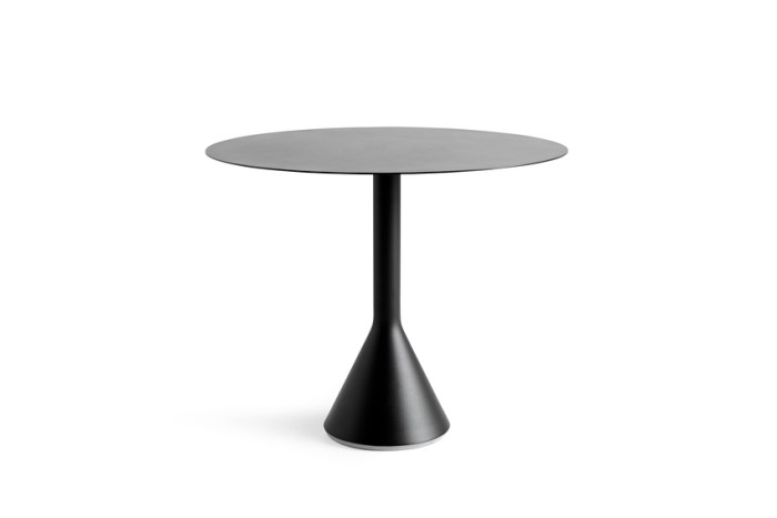 Hay Palissade Cone Table 90 Anthracite