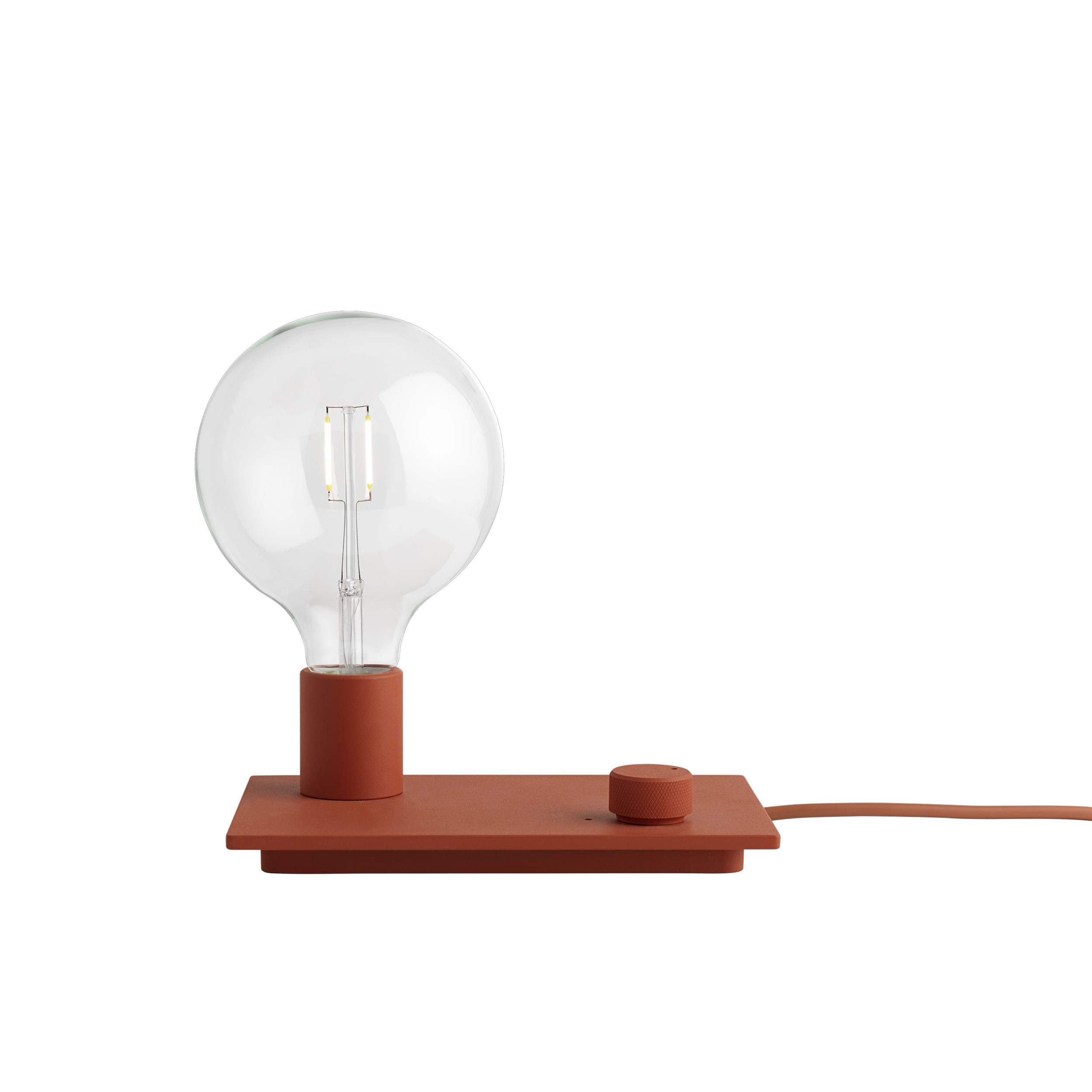 Control lamp red