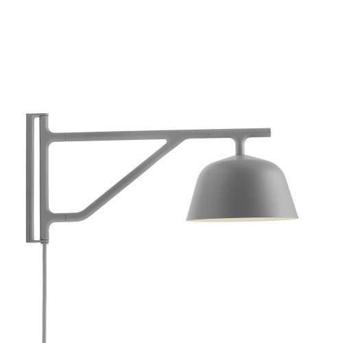 Ambit wall lamp grey