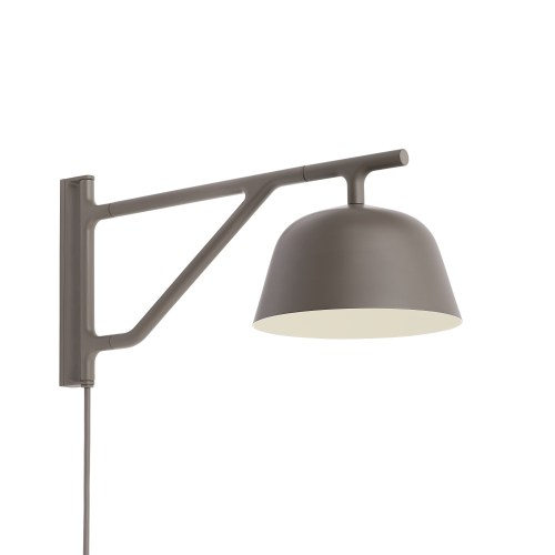 Ambit wall lamp taupe