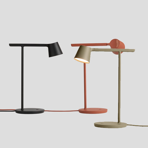 Tip table lamp black