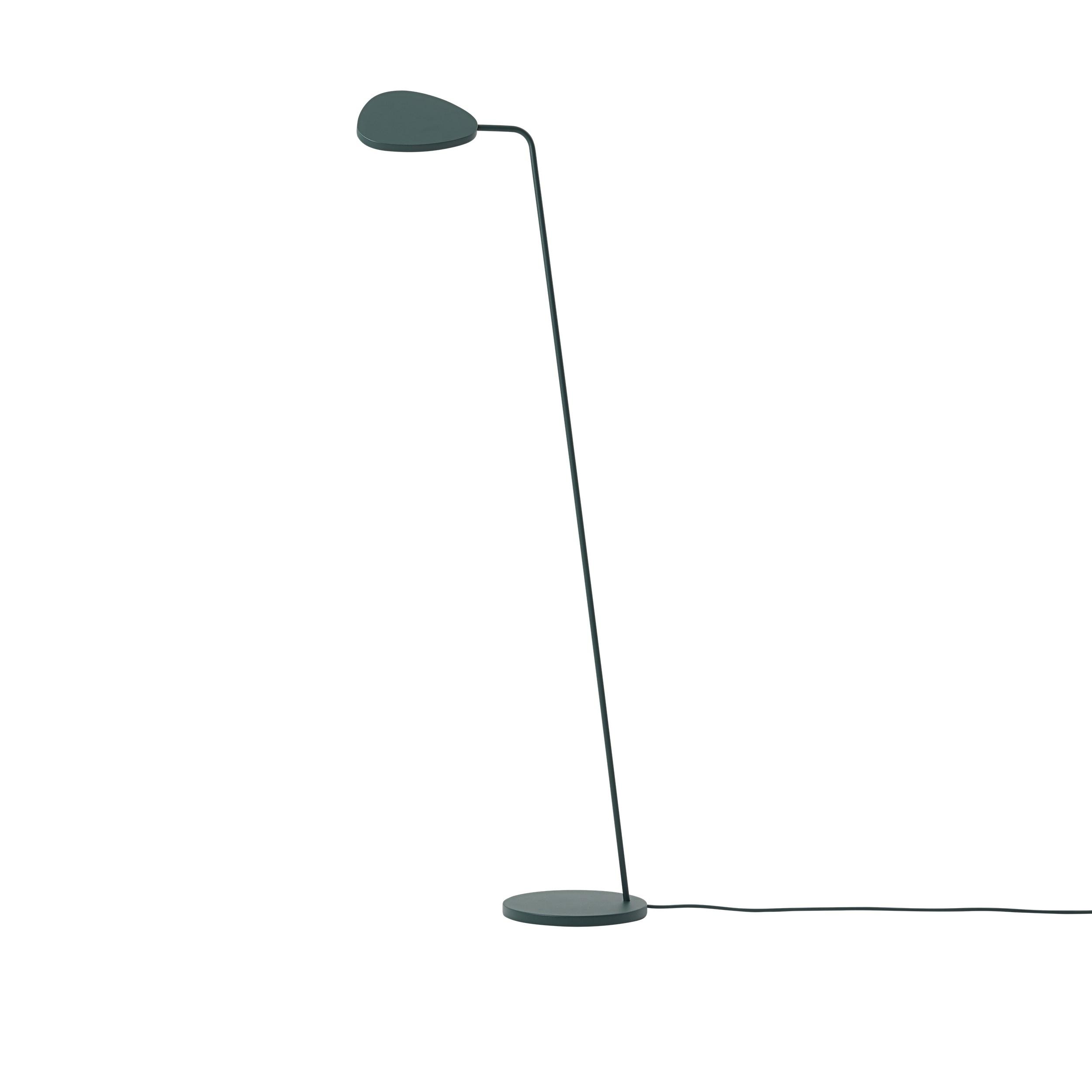 Muuto Leaf Floor Lamp Dark Green